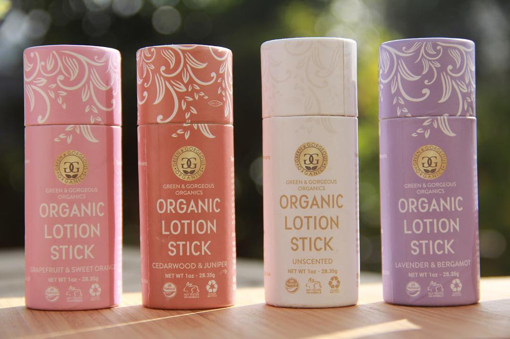 Organic Lotion Stick - Cedarwood and Juniper