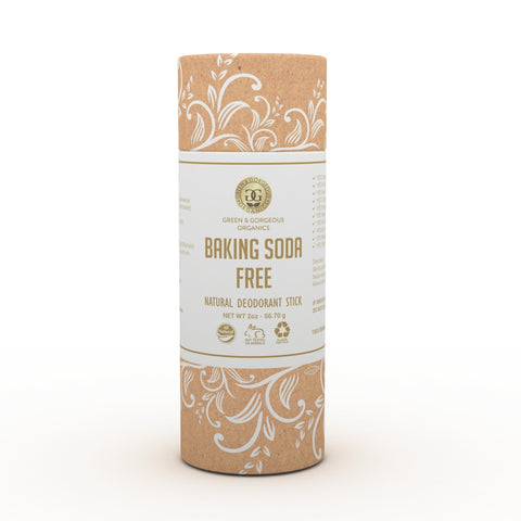 Organic Natural Deodorant Stick - BAKING SODA FREE