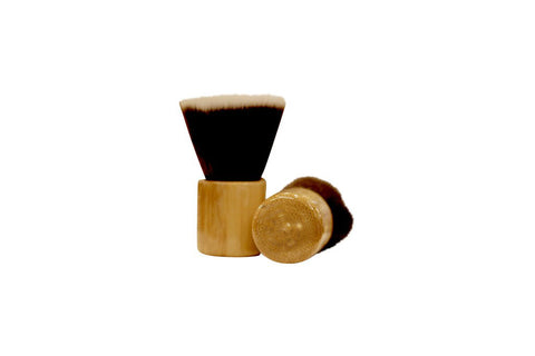 Organic Dry Shampoo Powder Brush - Travel Size