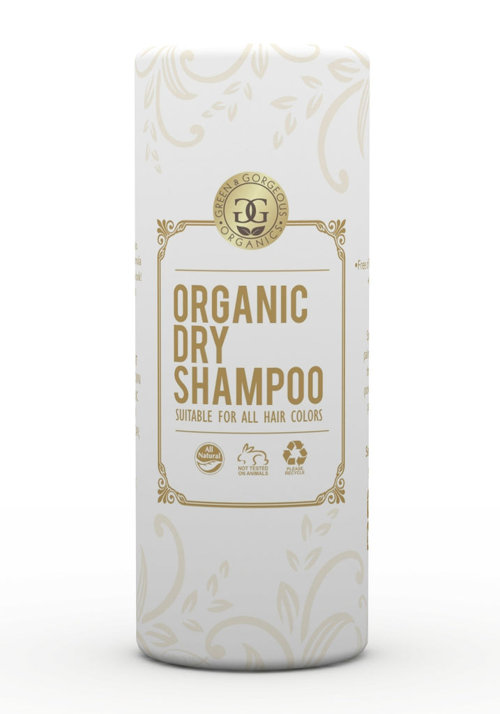 Organic Natural Dry Shampoo Powder for All and Oily Hair Types - UNSCENTED