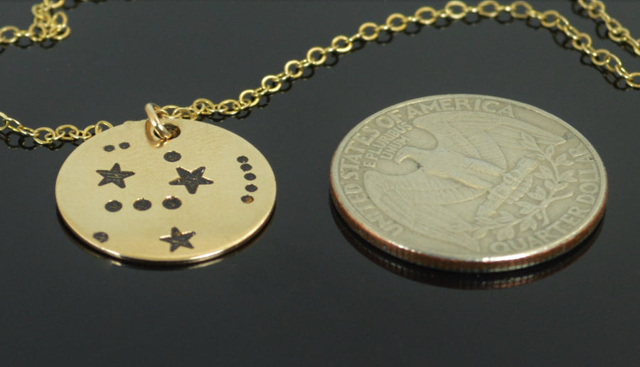 Gold Filled Orion Necklace