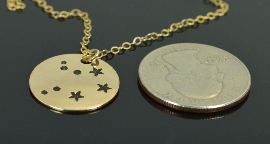 Gold Filled Libra Necklace