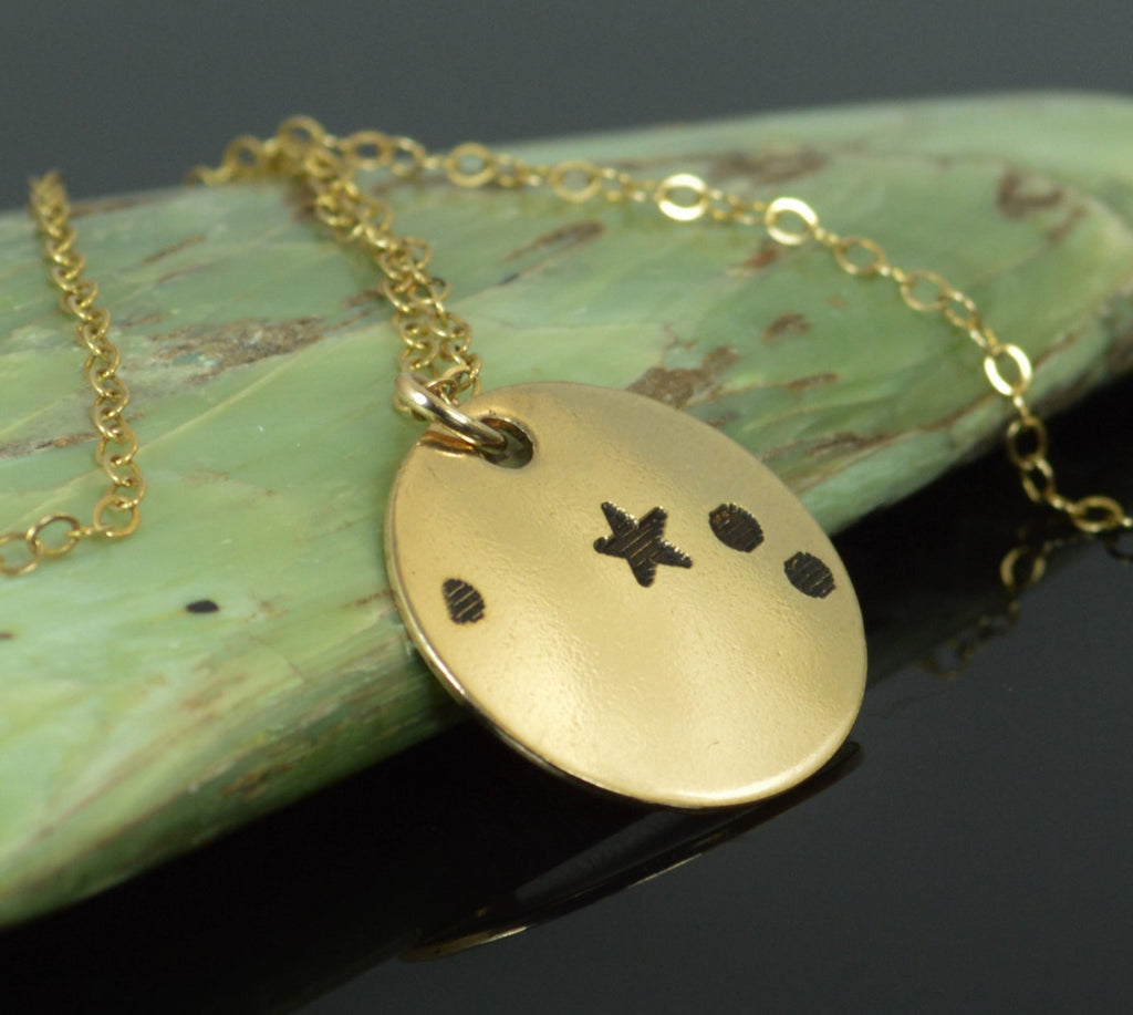 Gold Aries Necklace