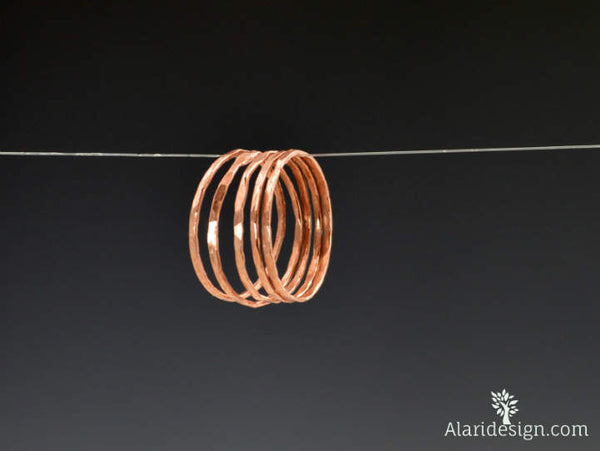 Super Thin Copper Stackable Ring