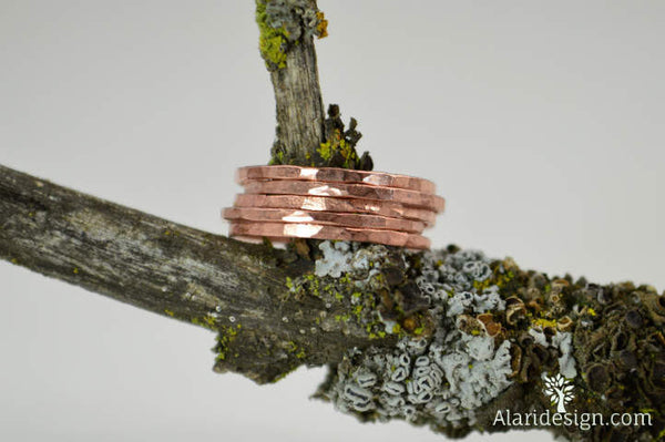 Thin Copper Rings