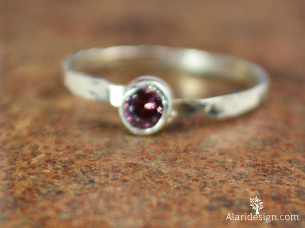 Small Alexandrite RIngs