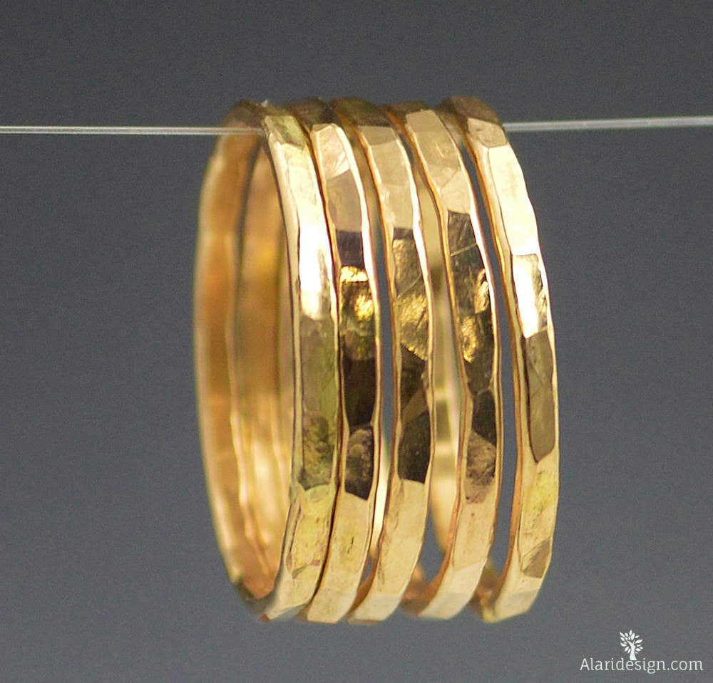 Classic Gold Stackable Ring