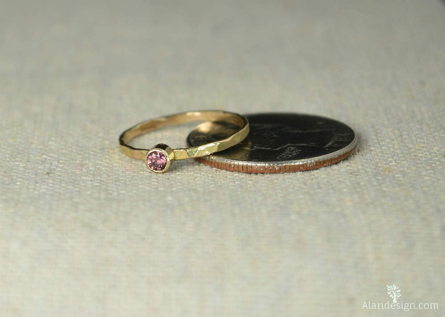 Classic 14k Gold Filled Alexandrite Ring
