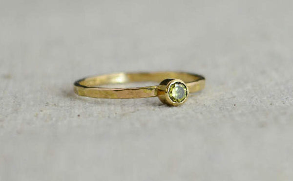 Classic 14k Gold Filled Topaz Ring