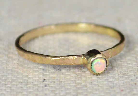 14k Gold Filled Opal Ring