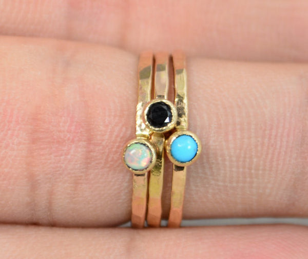 14k Gold Filled Turquoise Ring
