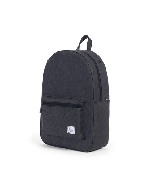 HERSCHEL - Settlement Backpack Color: Black Crosshatch/Black