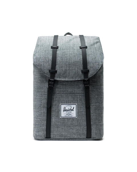 HERSCHEL - Retreat Backpack Color: Raven Crosshatch/Black