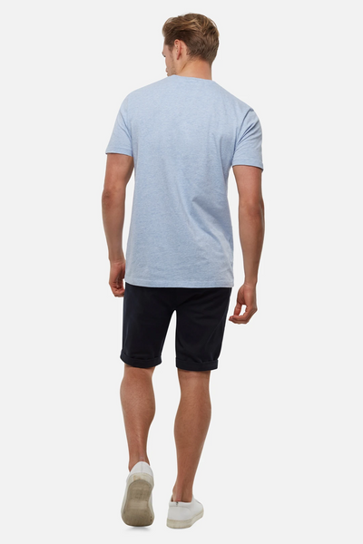 INDUSTRIE -  New Basic Crew Tee - BLUE MARLE