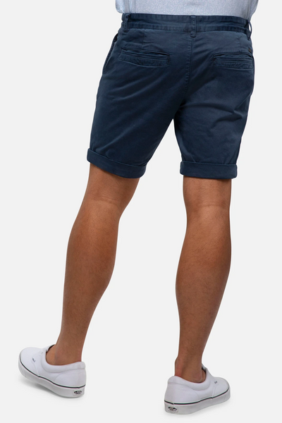 INDUSTRIE - The Washed Cuba short - INDIGO