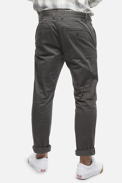 INDUSTRIE - The Regular Cuba Chino Pant - DARK SAGE