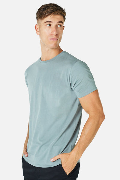 INDUSTRIE - THE BASIC CLASSIC TEE - AIR FORCE 20