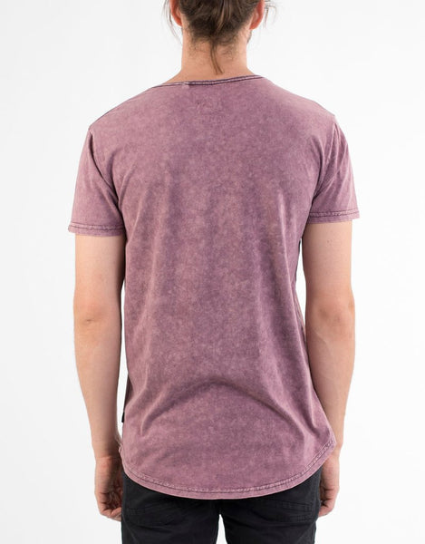 SILENT THEORY - Tee Acid Tail - BURGUNDY