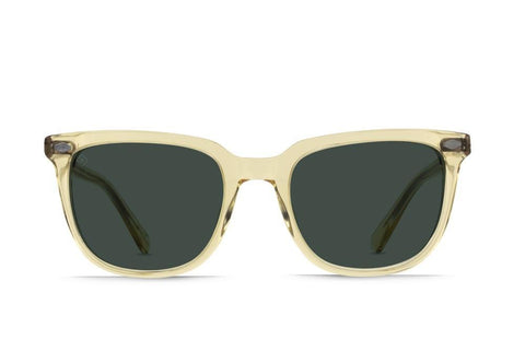 RAEN - Arlo Polarized Sunglasses - CHAMPAGNE CRYSTAL / GREEN