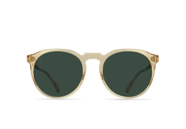 RAEN - Remmy Polarized Sunglasses 49 - CHAMPAGNE CRYSTAL / GREEN