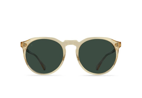 RAEN - Remmy Polarized Sunglasses - CHAMPAGNE CRYSTAL / GREEN