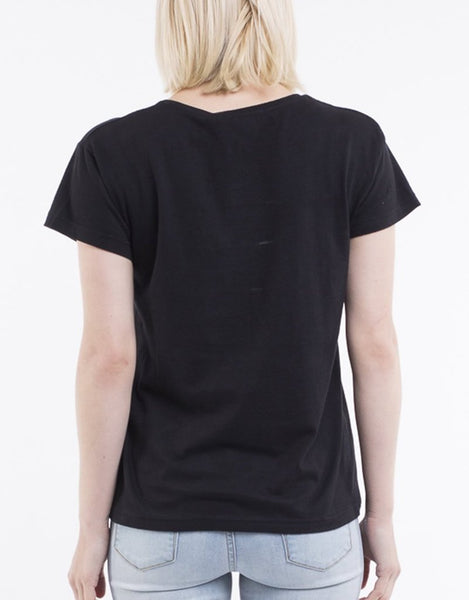 SILENT THEORY - Polly Tee - BLACK