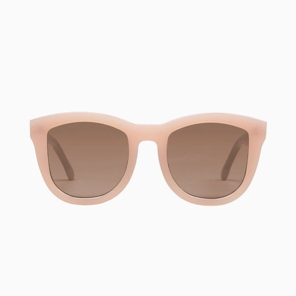 VALLEY EYEWEAR - TRACHEA - Baby Pink / Brown Lens