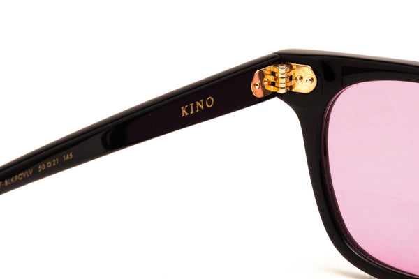 EPOKHE EYEWEAR - KINO Black Polished / Velvet