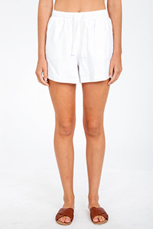NUDE LUCY - Nude Classic Short - WHITE