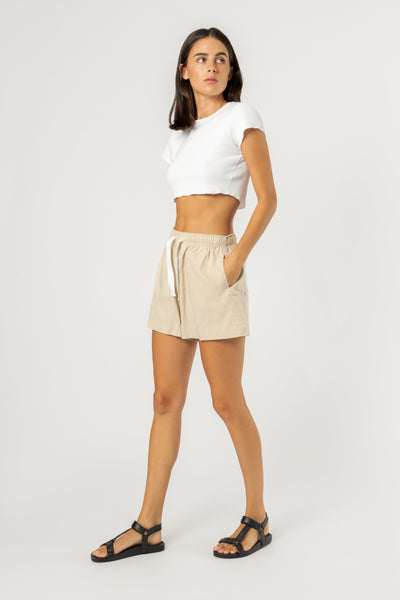 NUDE LUCY - Nude Classic Shorts - SAND
