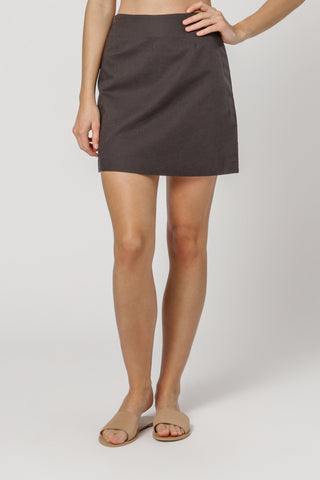 NUDE LUCY - Elsi Skirt - BLACK