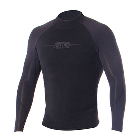 OCEAN & EARTH - Supa-Flex L/S Vest 1.5mm - BLACK