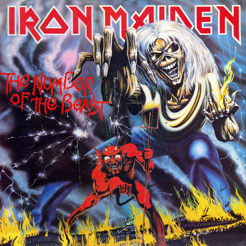 IRON MAIDEN - The Number Of The Beast (180g Vinyl)