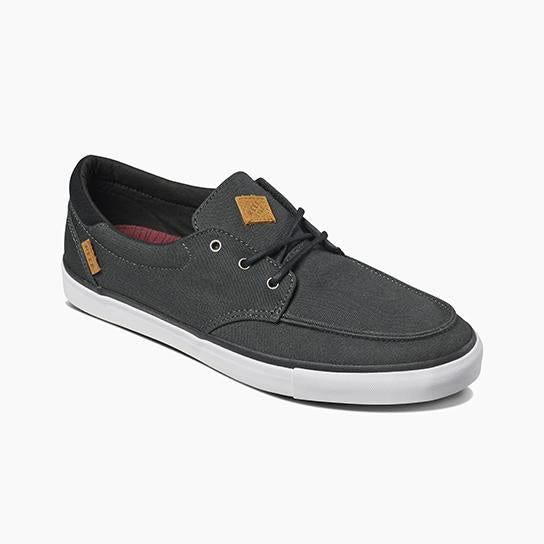 REEF DECKHAND-BLACK/WHITE