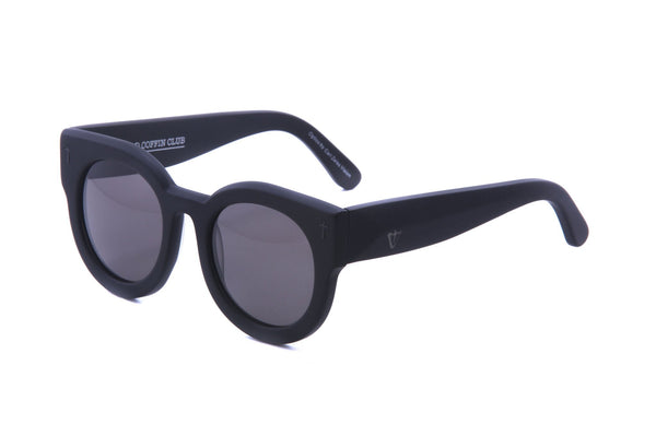 VALLEY EYEWEAR - ADCC - Matte Black/Black Lens