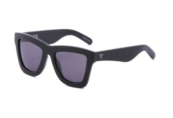 VALLEY EYEWEAR - DB - Gloss Black/Black Lens