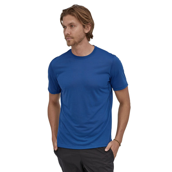 PATAGONIA - Men's Cap Cool Trail Shirt - Superior Blue