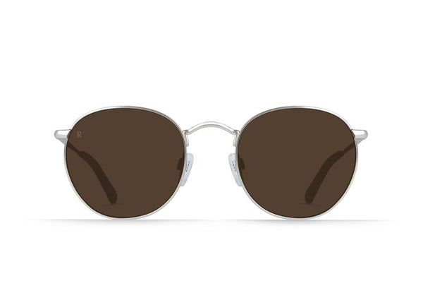 RAEN - Benson Sunglasses - BURLWOOD / BROWN