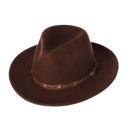 Kooringal - Ladies Safari Gigi - Felt Hat - Chocolate