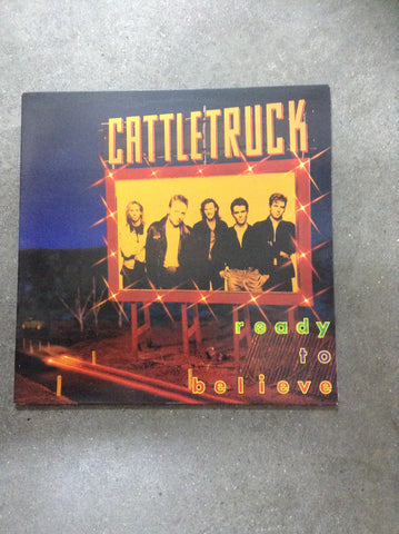 Cattletruck Ready to believe LP RAre 1983 OZ Rock/Blues