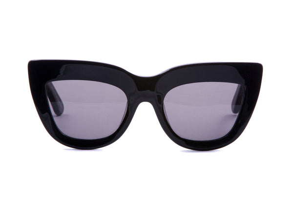 VALLEY EYEWEAR - MARMONT - Black Gloss/Black Lens