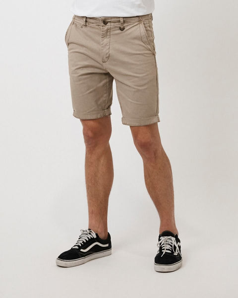 INDUSTRIE - The Washed Rinse Short - NEW CINNAMON