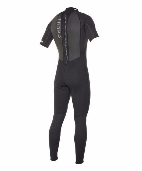O'NEILL - Reactor II Short Sleeve Full 2mm Steamer Wetsuit - Black