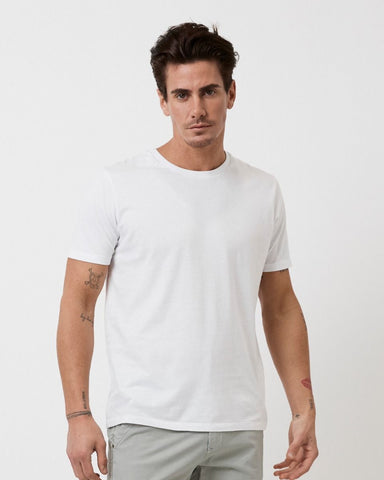 INDUSTRIE -  New Basic Crew Tee - WHITE