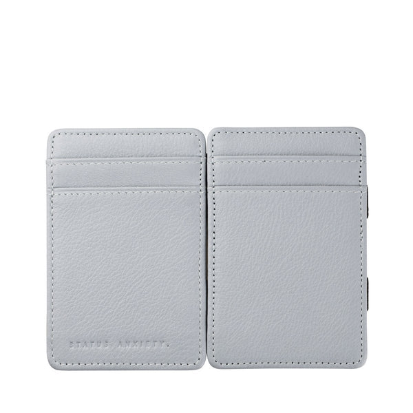 STATUS ANXIETY - Flip Wallet - ARCTIC GREY