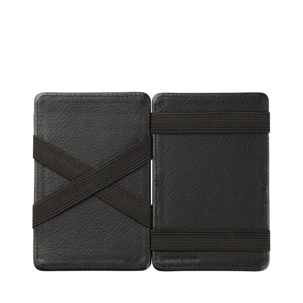 STATUS ANXIETY - Flip Wallet - BLACK
