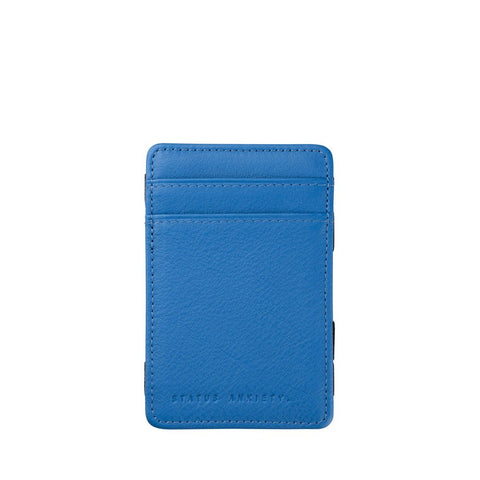 STATUS ANXIETY - Flip Wallet - BLUE