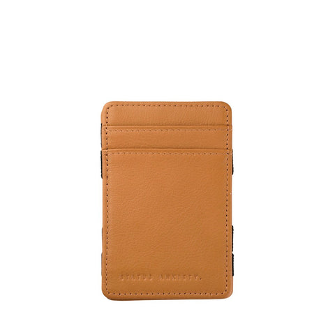 STATUS ANXIETY - Flip Wallet - TAN