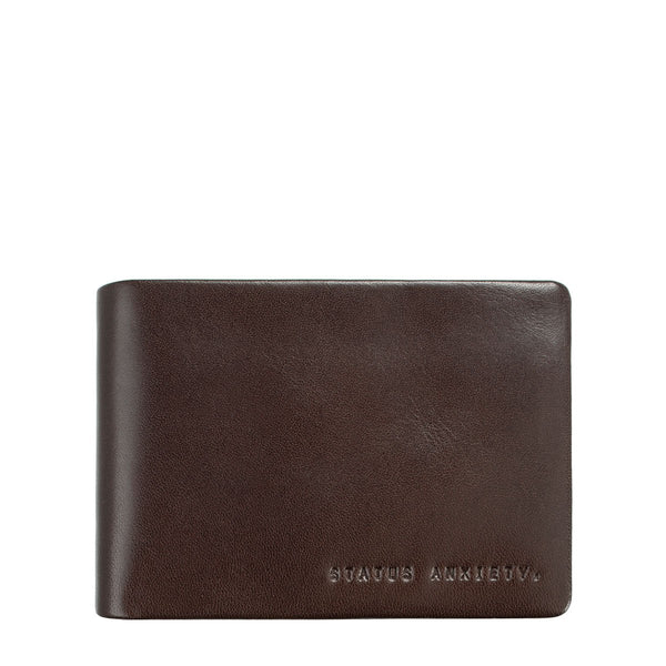 STATUS ANXIETY - Jonah Wallet - CHOCOLATE