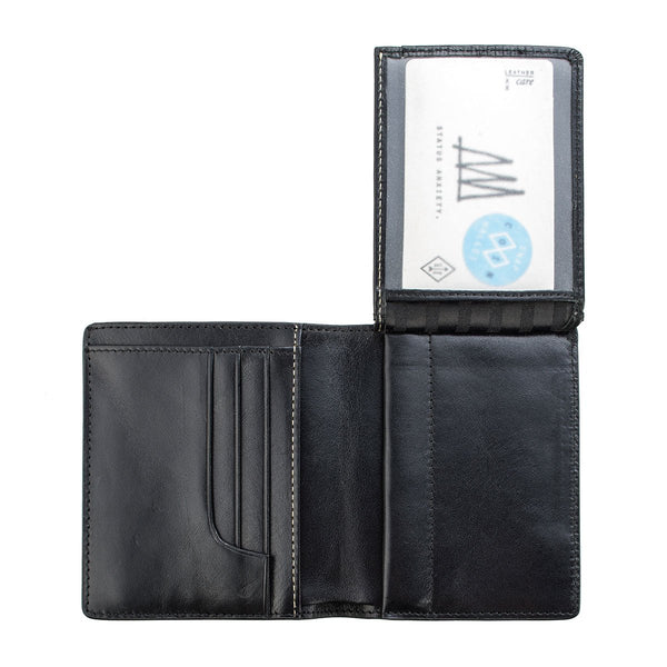 STATUS ANXIETY - Nathaniel Wallet - BLACK